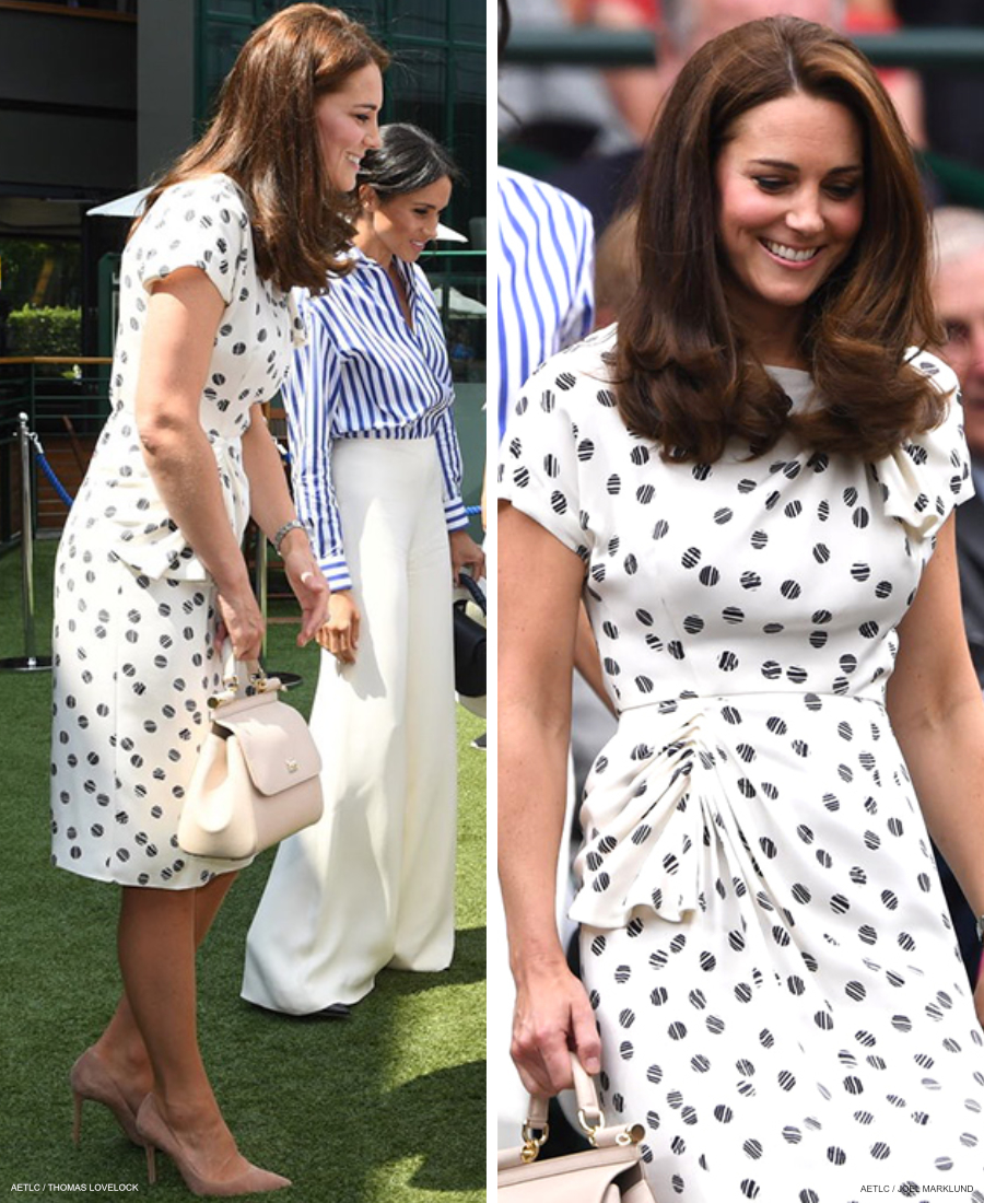 Kate Middleton's outfit at the 2018 Wimbledon Ladies Finals