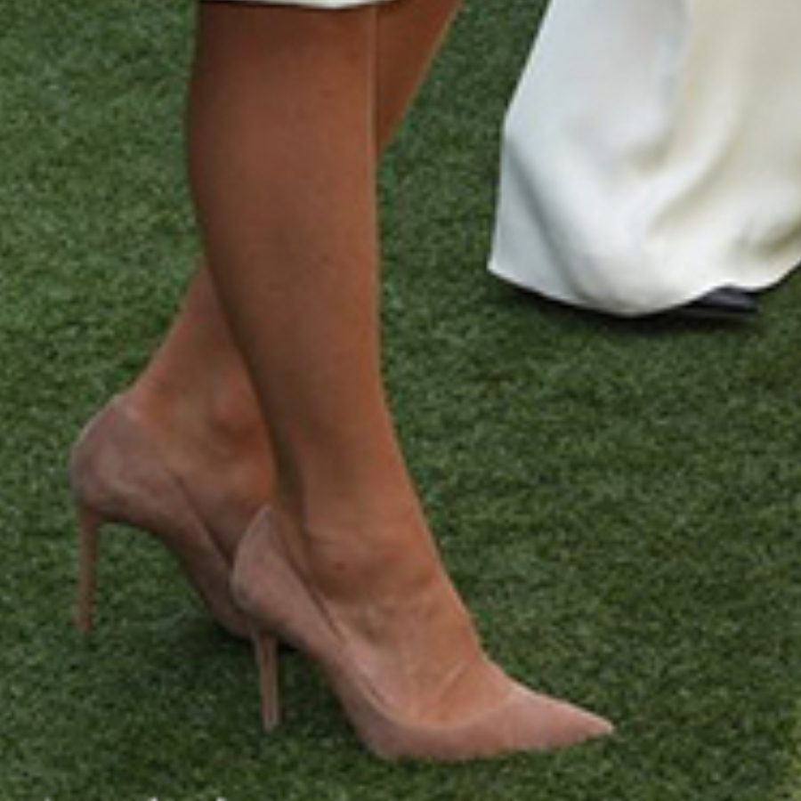 Kate Middleton's nude shoes at Wimbledon