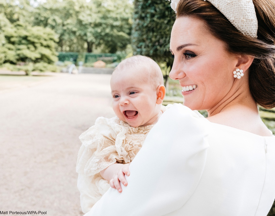 Prince Louis's Christening Photo