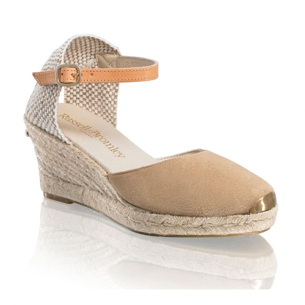 the Russell and Bromley Coco Nut wedges