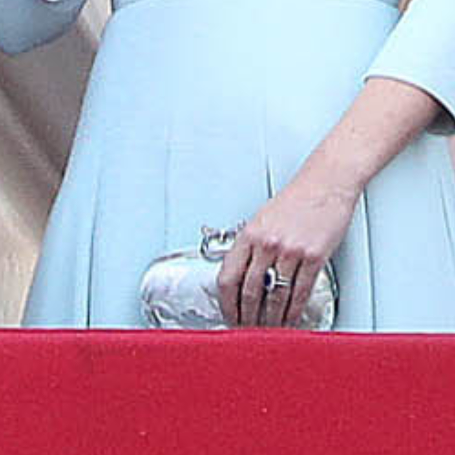 Kate Middleton's blue clutch at Trooping the Colour 2018