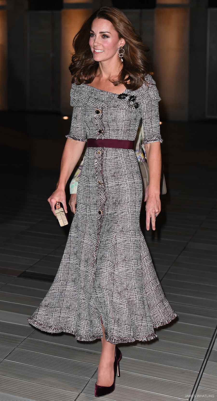 Kate Middleton wears Erdem for V&A Museum visit