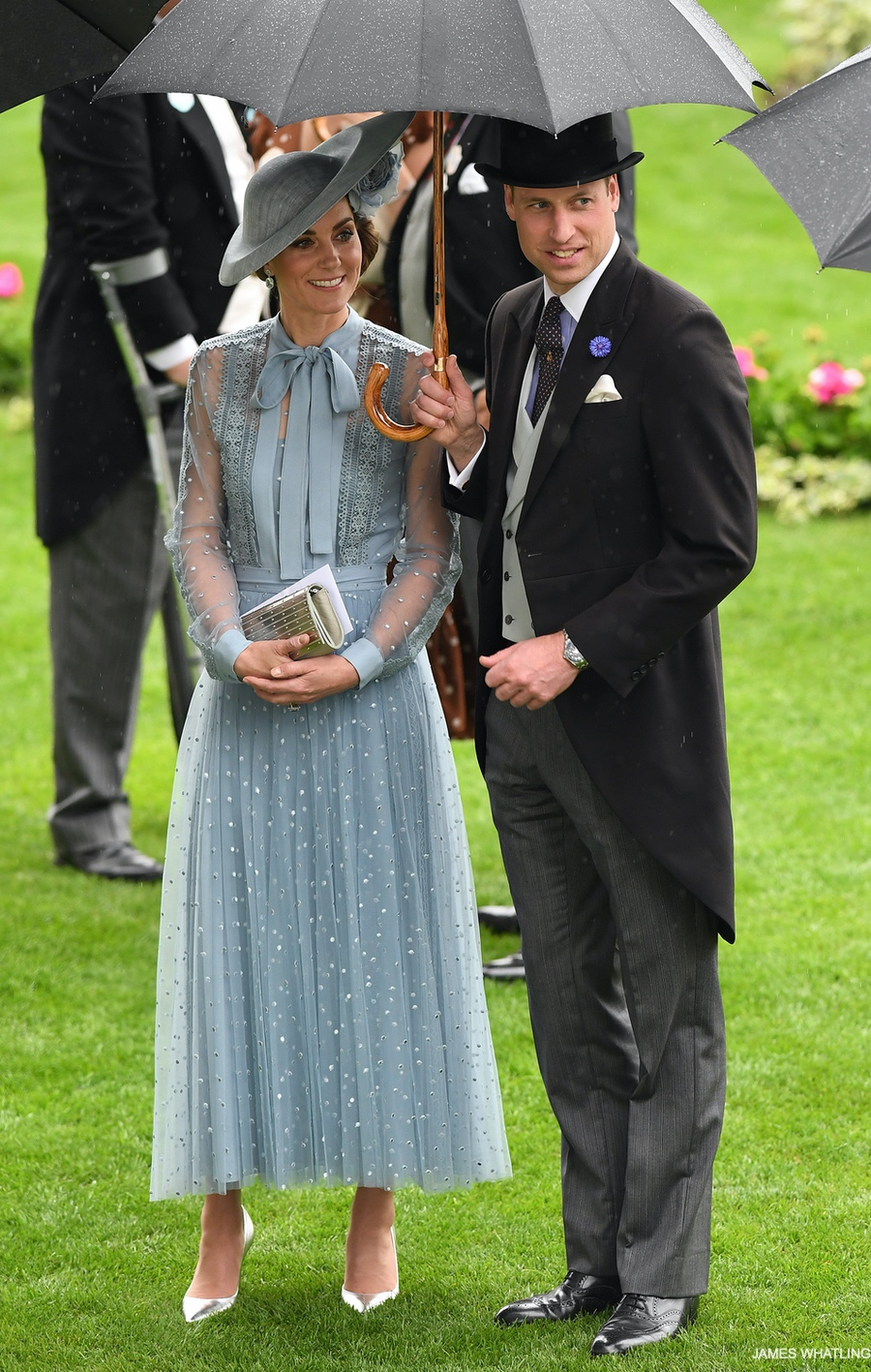 The Duke and Duchess of Cambridge together at Royal Ascot.