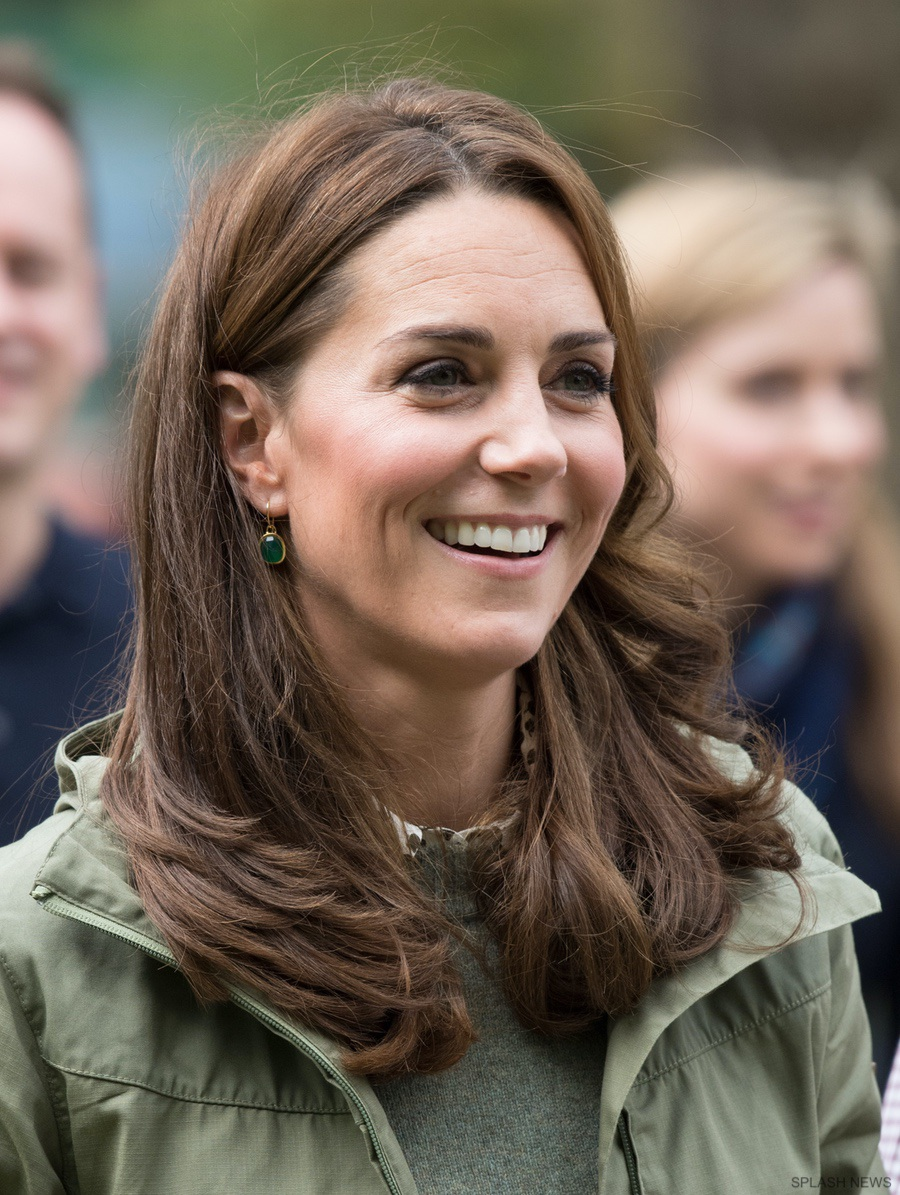 Kate Middleton visits Sayers Croft Forest School