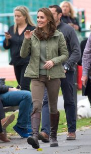 Kate Middleton's outfit at Sayers Croft Forest School