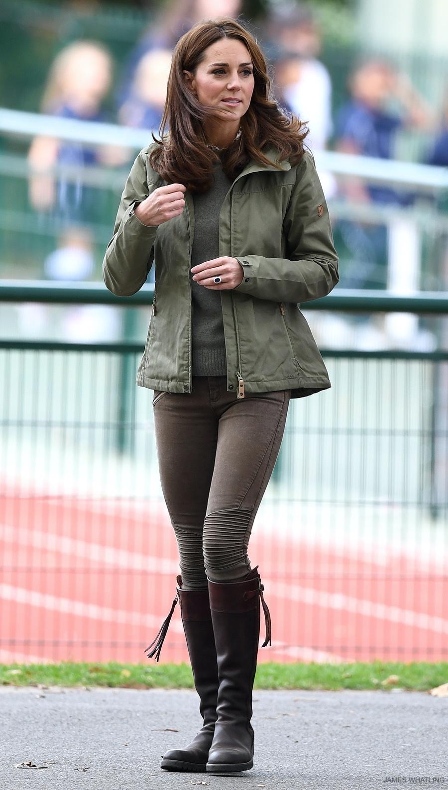 Kate Middleton visits Sayers Croft Forest School