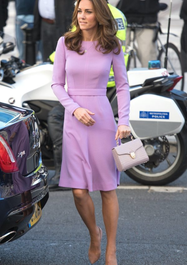 Kate recycles fan favourite purple dress for mental health summit