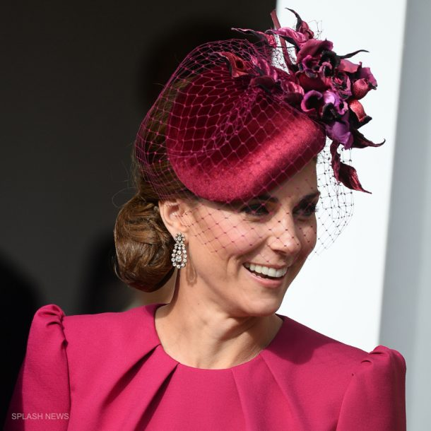 Kate Middleton Philip Treacy