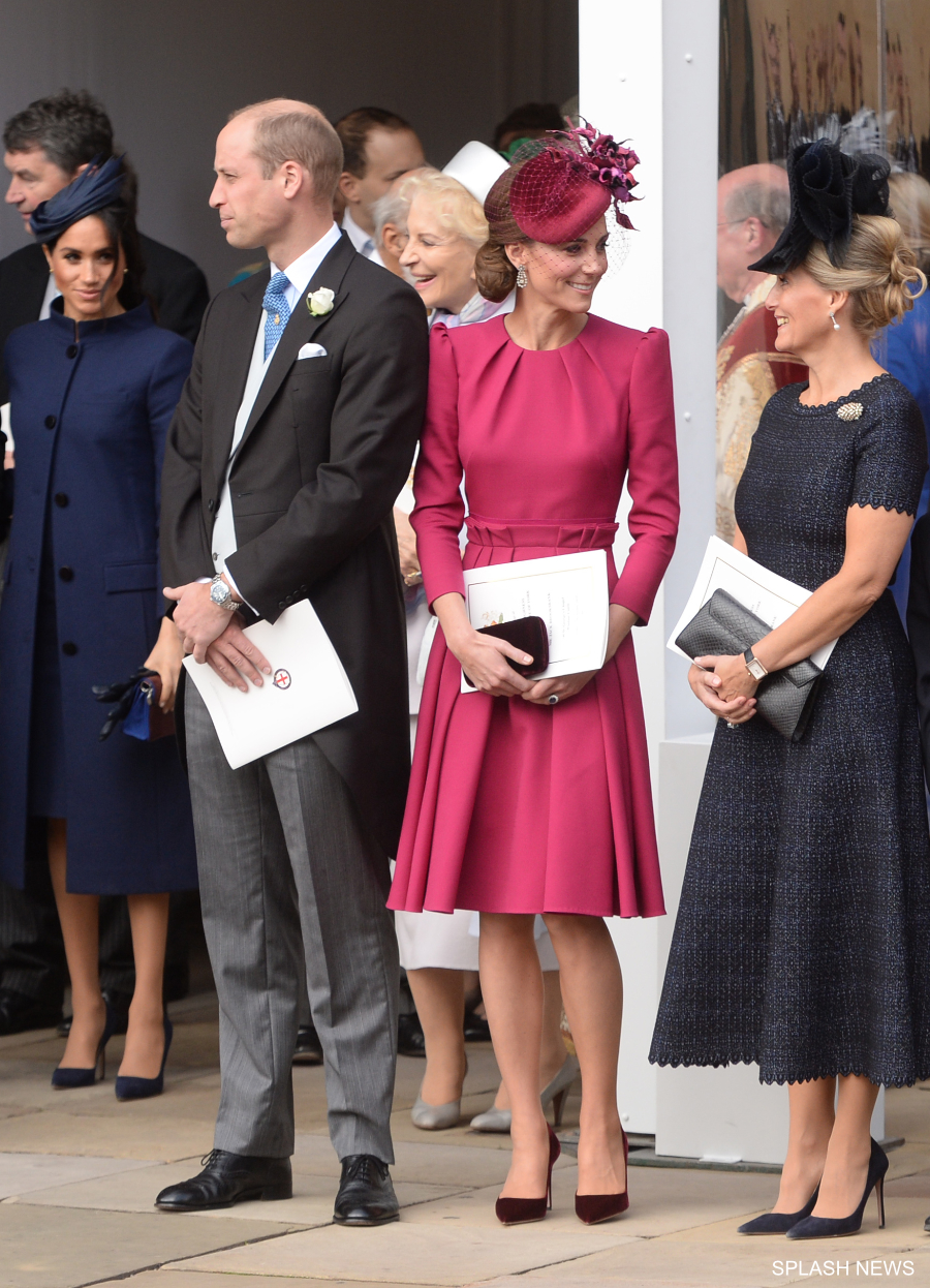 Princess Eugenie Wedding.Kate Looks Pretty In Pink At Princess Eugenie S Wedding Kate