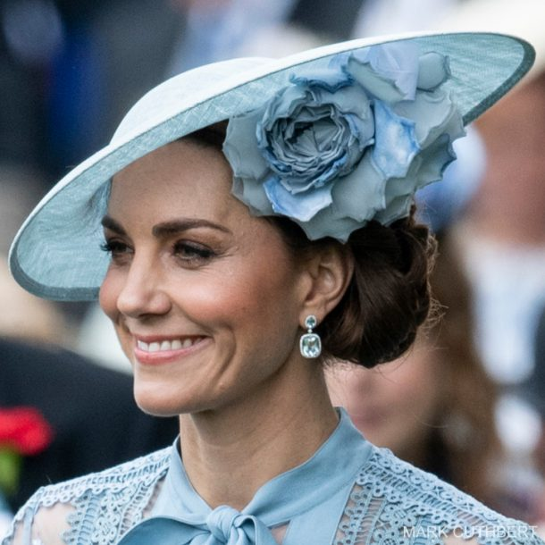 Kate Middleton's earrings at Royal Ascot