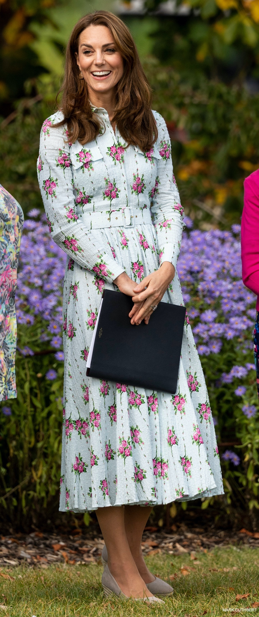 The Duchess of Cambridge officially opens the Back to Nature Garden at RHS Wisley