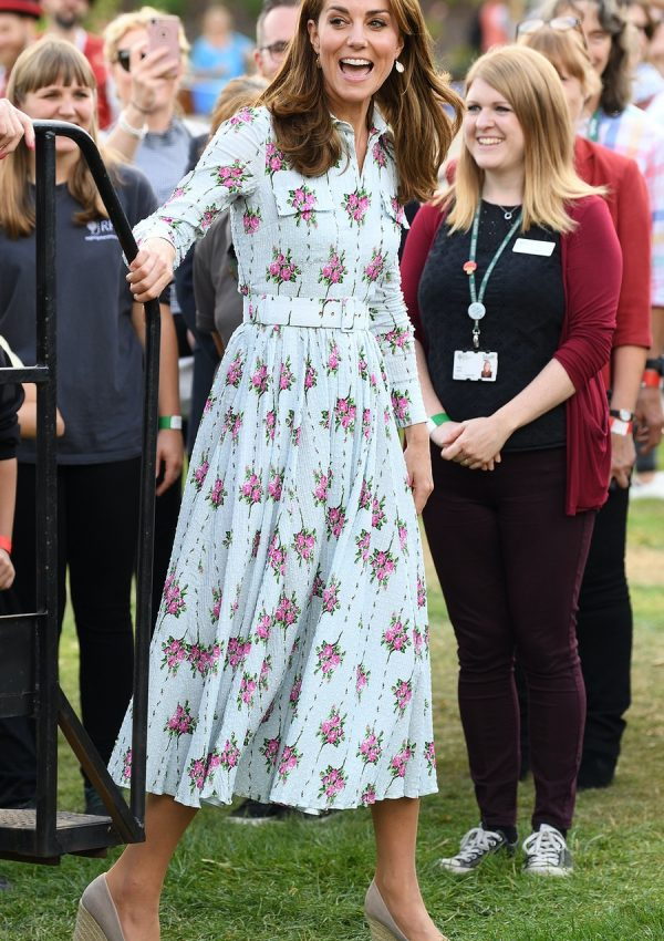 The Duchess of Cambridge's outfit at RHS Wisley