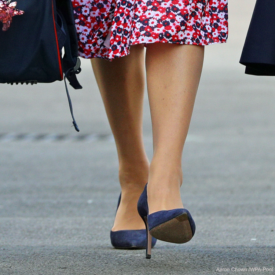 Kate Middleton wearing Prada heels
