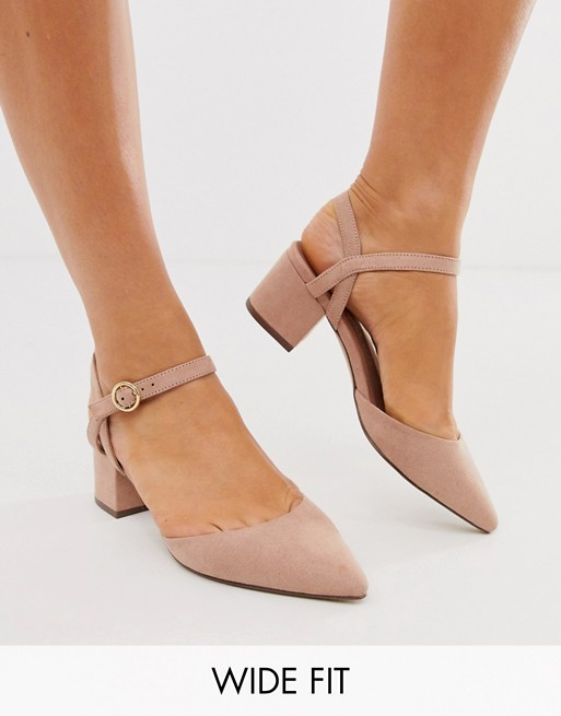 New Look Low Block Heeled Shoes